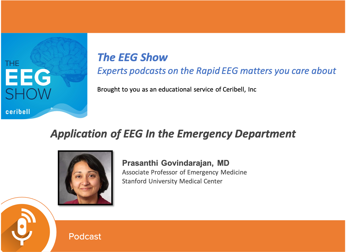 Dr. Prasanthi Govindarajan discusses the use and benefits of access to rapid EEG in the emergency department