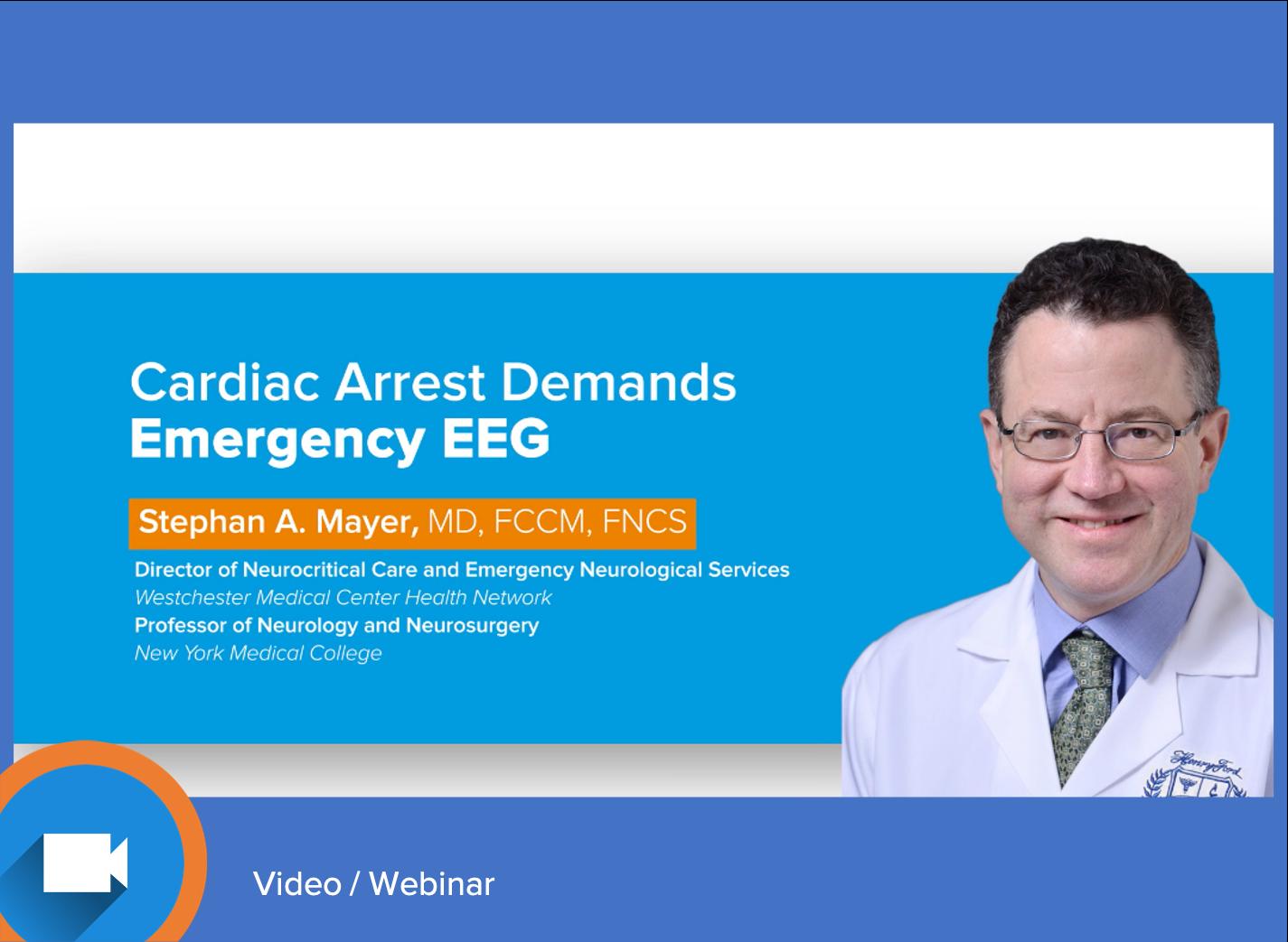 Cardiac Arrest Demands Emergency EEG
